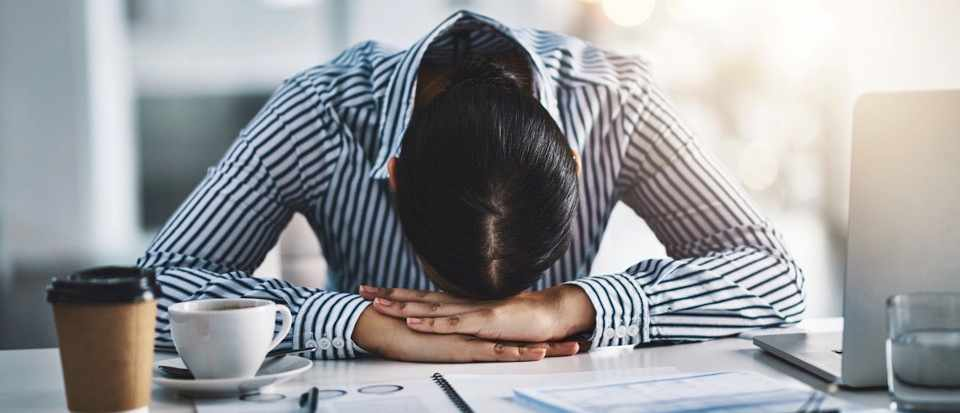 Vital exhaustion, or burnout, linked to atrial fibrillation and irregular heartbeat © Getty Images