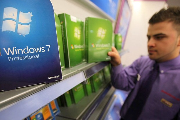 Microsoft ends support for Windows 7 today © Getty Images