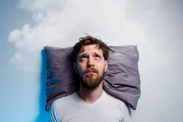 Is it possible to be too tired to sleep? © Getty Images