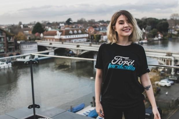 Leah Viathan, captain of Fordzilla UK ©Ford/PA
