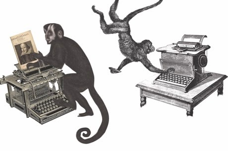 Could a lot of monkeys write Shakespeare? © Jason Anscomb/Rawshock design