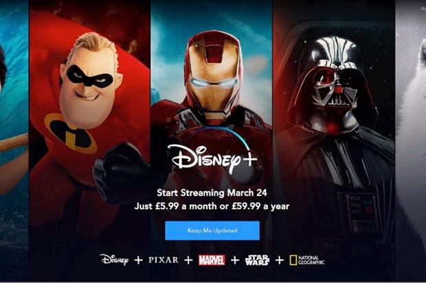 Star Wars fans rejoice! Disney+ coming to the UK in March © Disney:PA