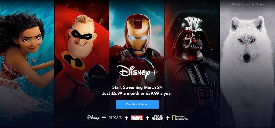 Star Wars fans rejoice! Disney+ coming to the UK in March