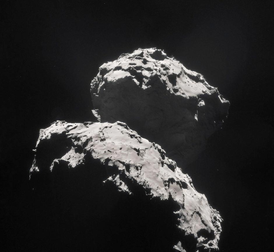 Comet 67P/Churyumov–Gerasimenko © ESA/Rosetta