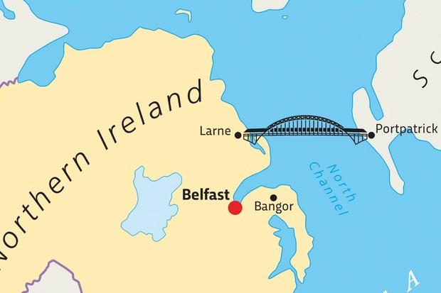 "Scotland-Northern Ireland bridge: doable, just ""eye-wateringly expensive"""