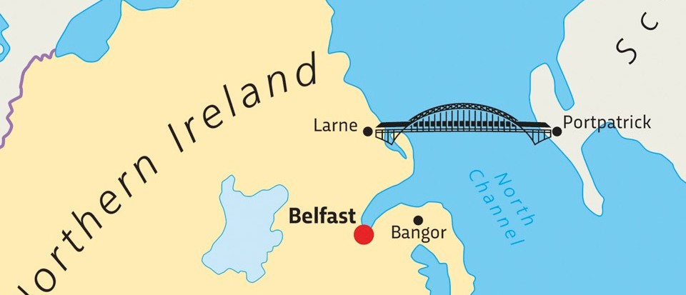 "Scotland-Northern Ireland bridge: doable, just ""eye-wateringly expensive"""