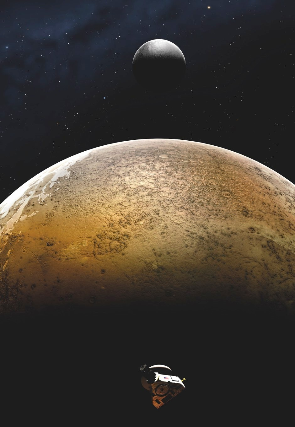 Until now, illustrations like this offered the best idea of what Pluto looked like up close © Alamy