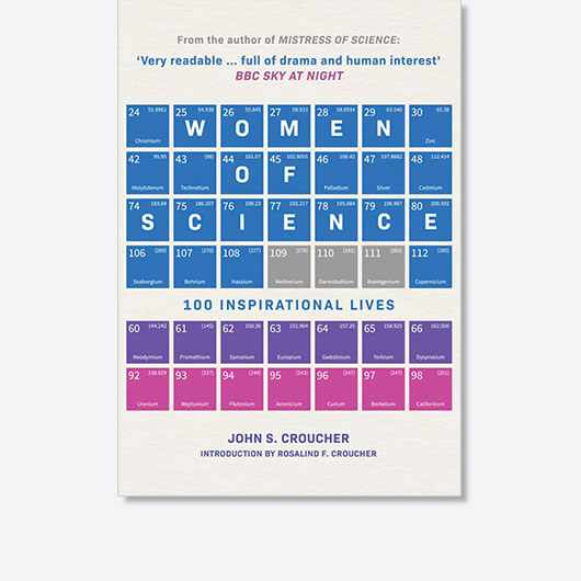 Women of Science: 100 Inspirational Lives by John S Croucher is out now (Amberley Books, £20)