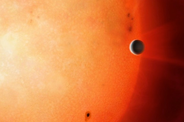 Jupiter-like exoplanet orbits its star in only 18 hours © University of Warwick/Mark Garlick/PA