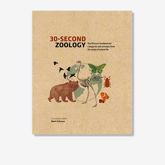 30-Second Zoology: The 50 most fundamental categories and concepts from the study of animal life by Mark Fellowes and various contributors is out now (£14.99, Ivy Press)