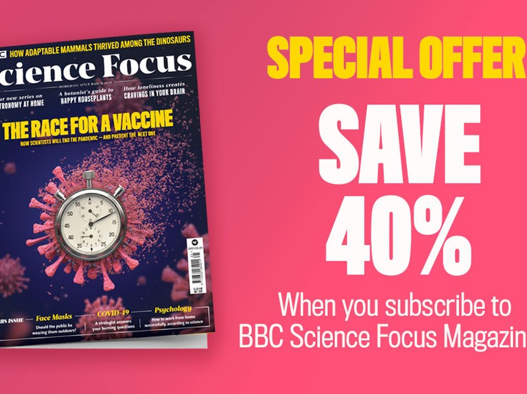 Save 40% when you subscribe to BBC Science Focus