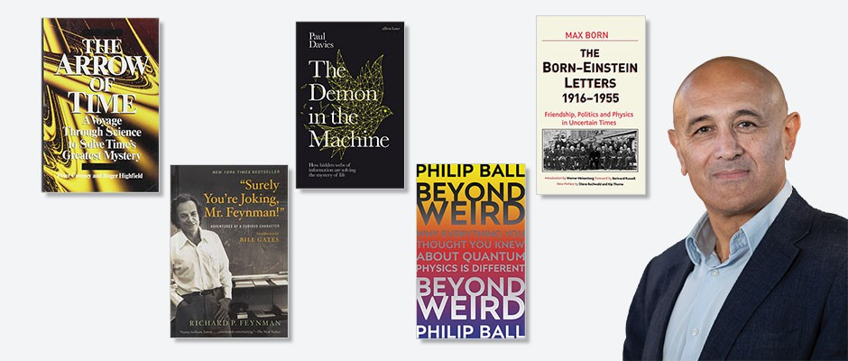 Five best physics books, according to Jim Al-Khalili