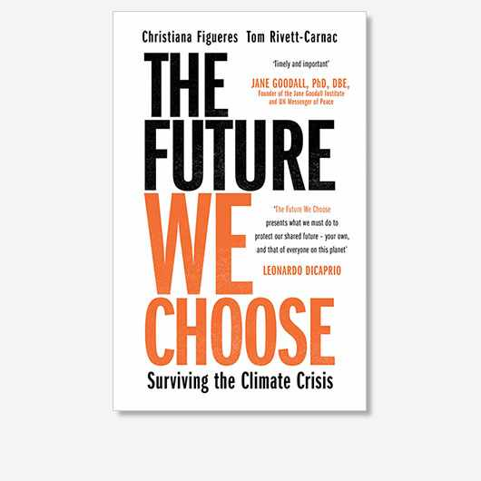 The Future We Choose by Christiana Figueres and Tom Rivett-Carnac is out now (£12.99, Manilla Press)
