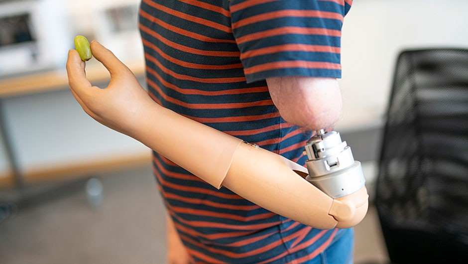 Thought-controlled bionic arm with sense of touch 'could be available in two years'