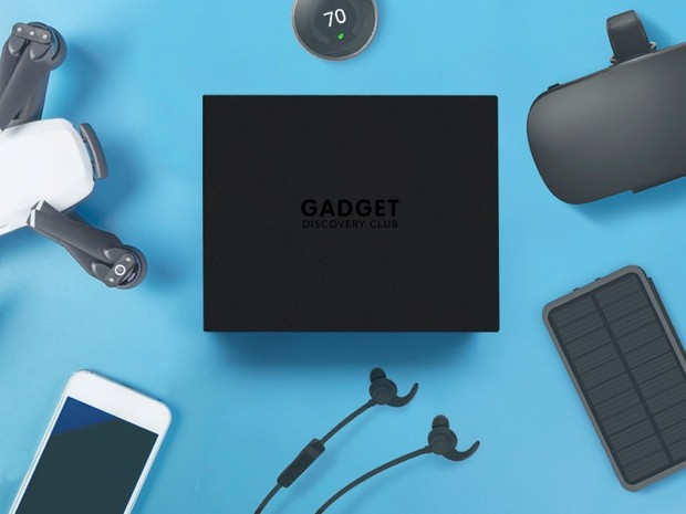 Gadget Discovery Club tech subscription box (cool gadgets)