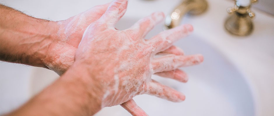 Washing your hands six to 10 times a day could lower coronavirus risk © Getty Images