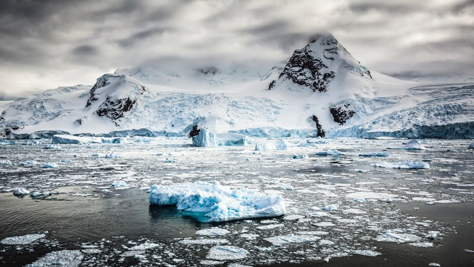 Rapid Ice Age retreat of Antarctic ice gives stark climate change warning