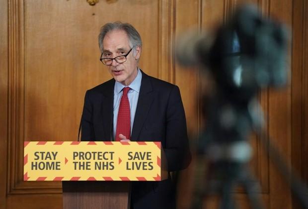 Professor John Newton © Pippa Fowles/10 Downing Street/Crown Copyright