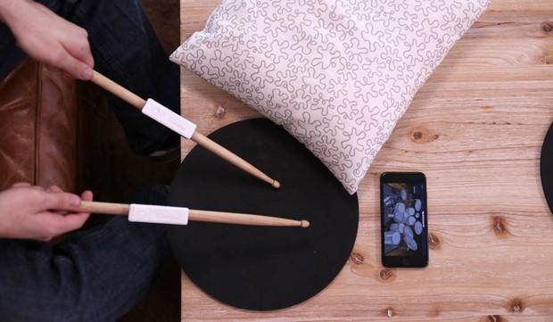 Senstroke bluetooth electric drumkit (cool gadgets)