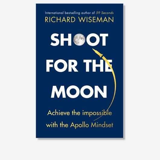 Shoot For The Moon by Prof Richard Wiseman is out now (£20, Quercus)