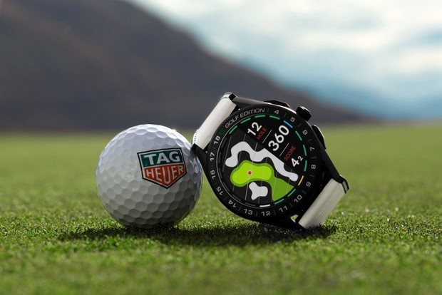 Tag Heuer Connected Golf Edition smartwatch (cool gadgets)