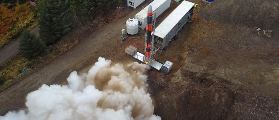 Successful space rocket test first in UK for a generation