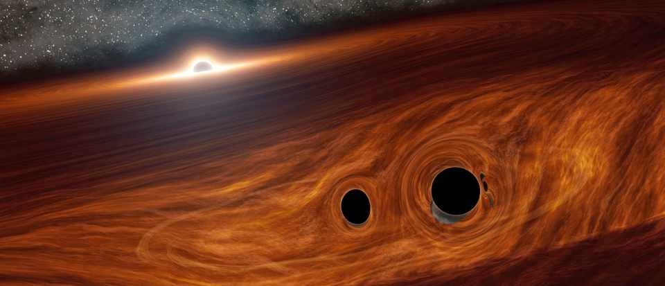 Flash of light seen from possible black hole collision - BBC Focus Magazine
