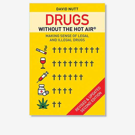 David Nutt's latest book, Drugs Without The Hot Air: Making Sense Of Legal And Illegal Drugs, is out now (£18.99, UIT Cambridge).