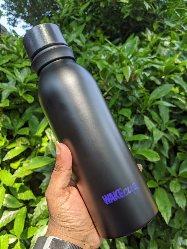 WAKEcup self-cleaning water bottle (cool gadgets)