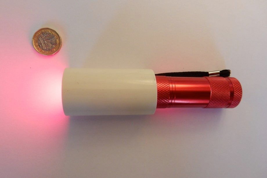 LED light from a £12 torch 'significantly improves vision' for the over 40s