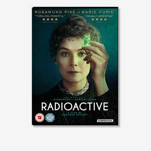 Radioactive is out on DVD on 27 July