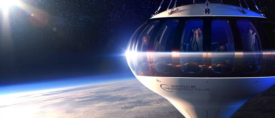 Space balloon to ferry passengers into the stratosphere