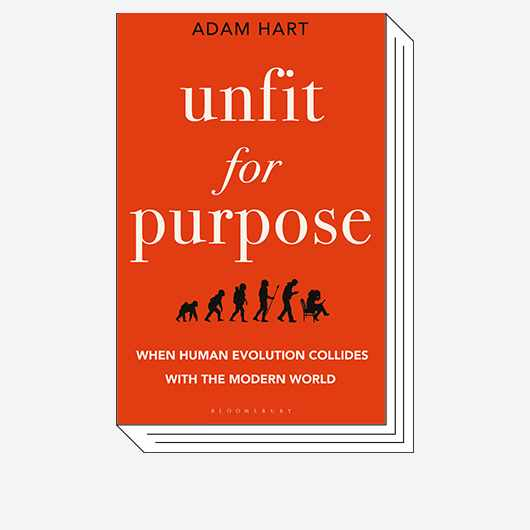 Book cover of Unfit for Purpose © Bloomsbury Sigma