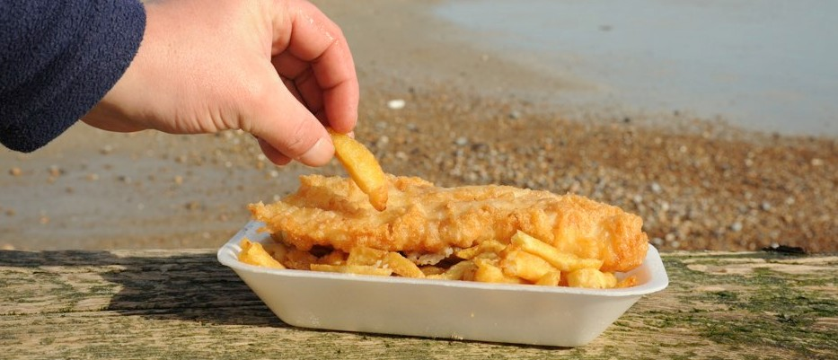 National favourite, cod and chips, at climate change risk