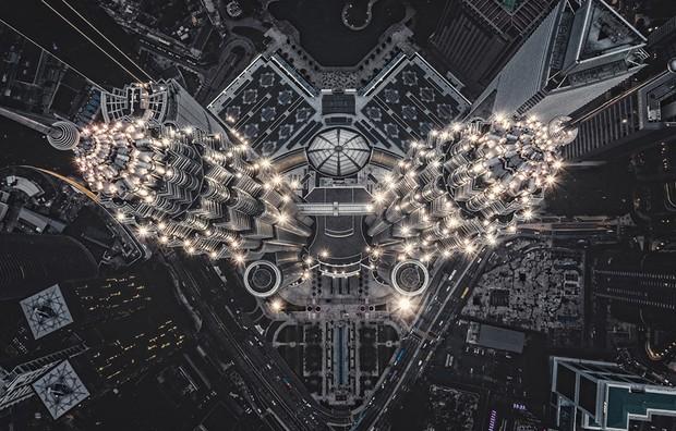 Estrutura alienígena na Terra - As torres Petronas em Kuala Lumpur