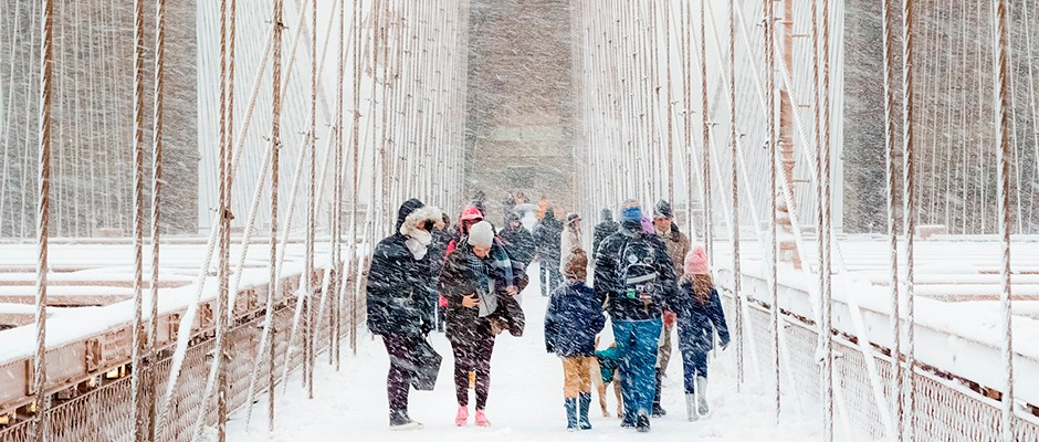 Blizzard in Brooklyn wins Royal Met's top photography prize