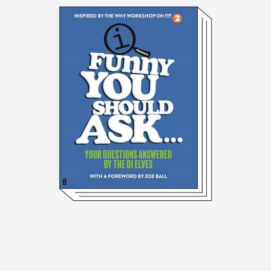 Funny You Should Ask cover © Faber