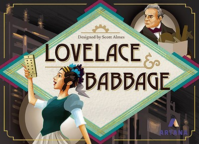 Lovelace & Babbage board game (Best science and tech gifts)