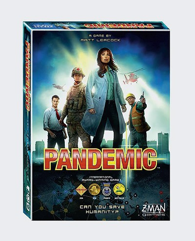 Pandemic board game (Best science and tech gifts)