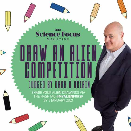 The BBC Science Focus draw an alien competition