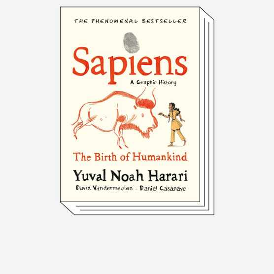 Cover of Sapiens: A Graphic History