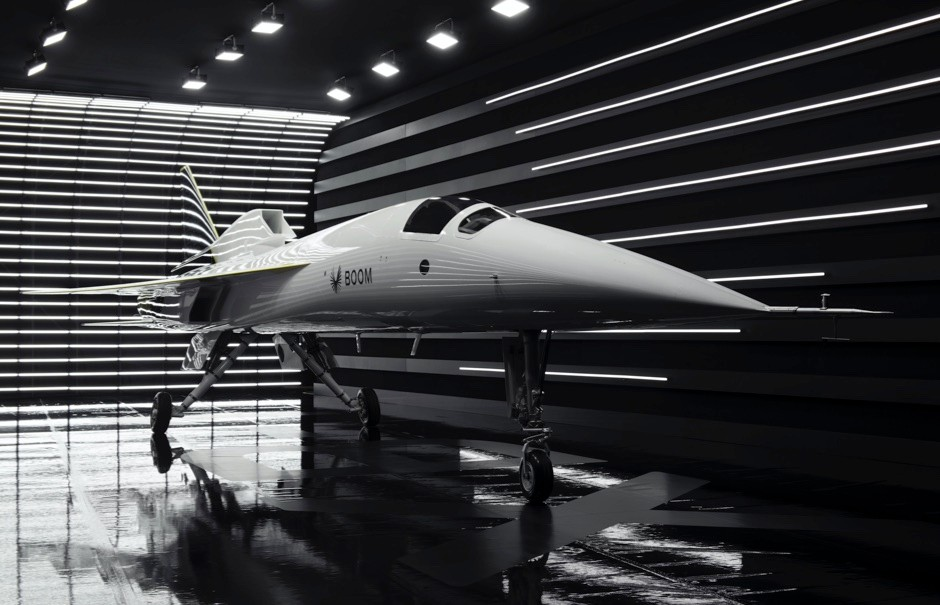 In pictures: Aerospace start-up unveils first-ever independently developed supersonic jet