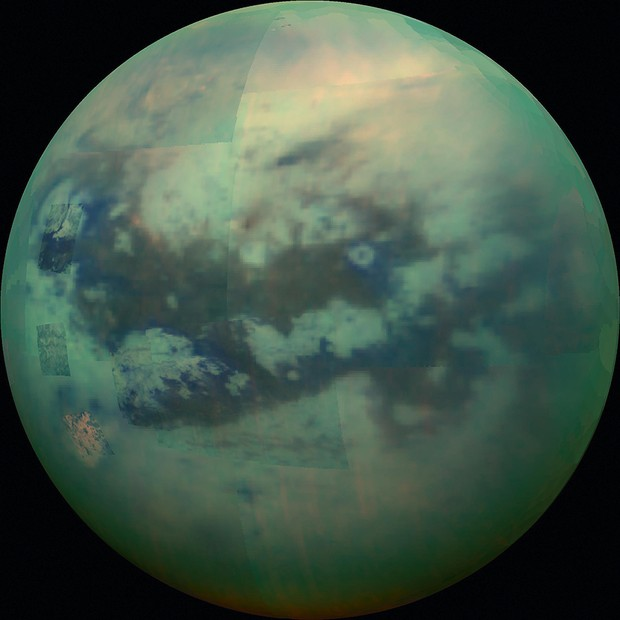 Titan © NASA/JPL