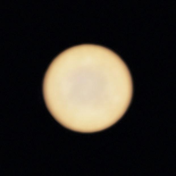 Venus, as seen by the ALMA telescope © ESO