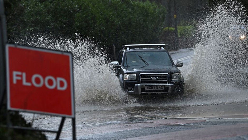 UK flooding could increase by 15-35 per cent by 2080