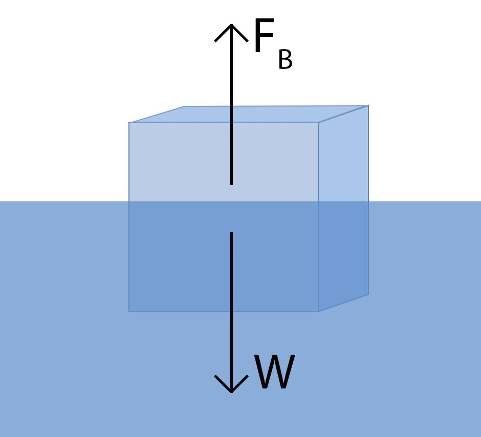 Why does ice float on water