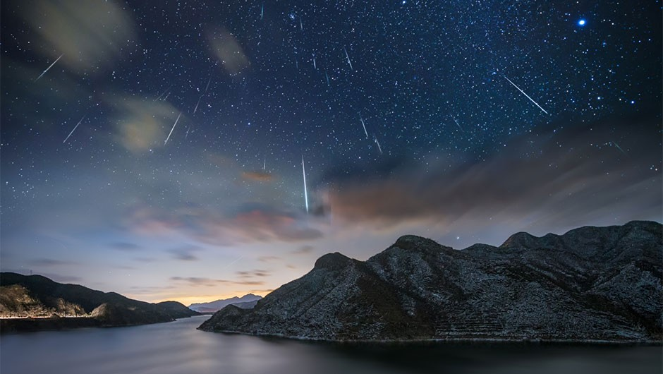 When is the next meteor shower in the UK?