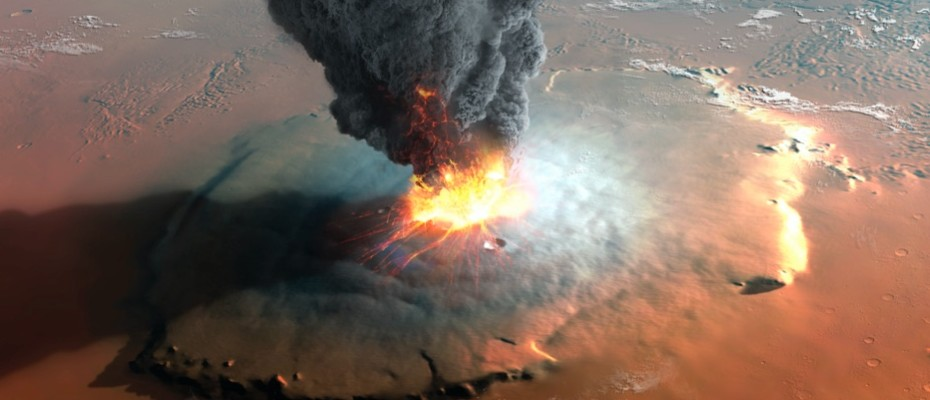 There may still be active volcanoes on Mars