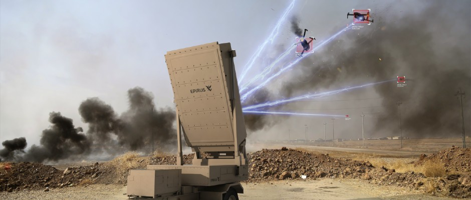 Drone-killer fires microwave beams to disable UAVS