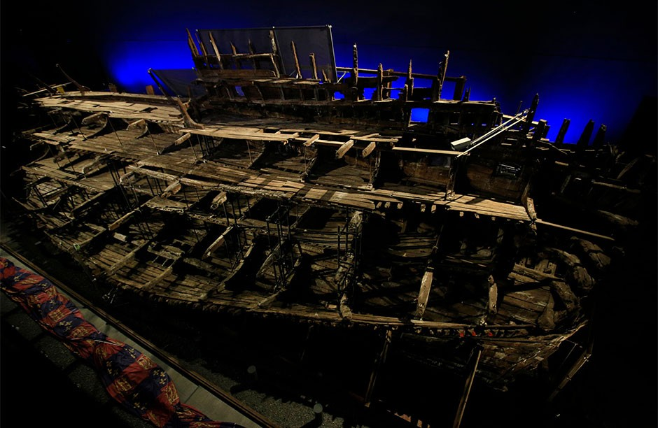 Henry VIII's Mary Rose ship had crew members of multinational descent